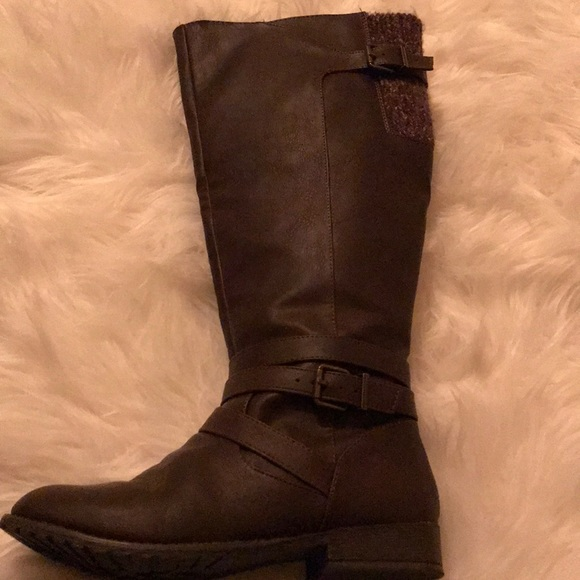 7f3e06f4d5eb jcpenney Shoes - Dark brown knee high boots!